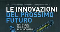 """Pubblicata l'edizione 2016 de """"Le innovazioni del prossimo futuro – Tecnologie prioritarie per l'industria"""""""