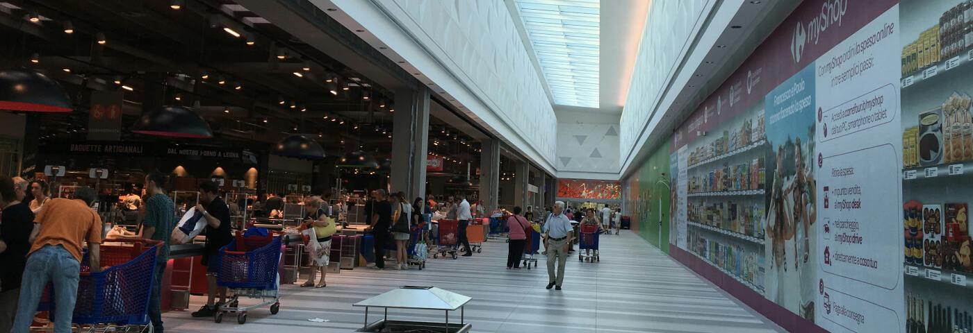Tecnologia, tradizione e qualità nel nuovo ipermercato Carrefour di Nichelino