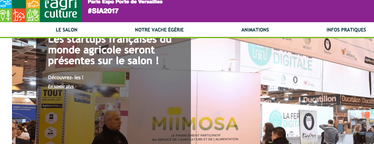 """Dal 25 febbraio al 5 marzo a Parigi il """"Salon International de l'Agriculture 2017"""""""