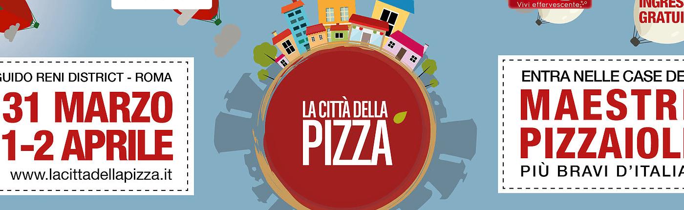 """Dal 31 marzo al 2 aprile Roma è """"La Città della Pizza"""""""