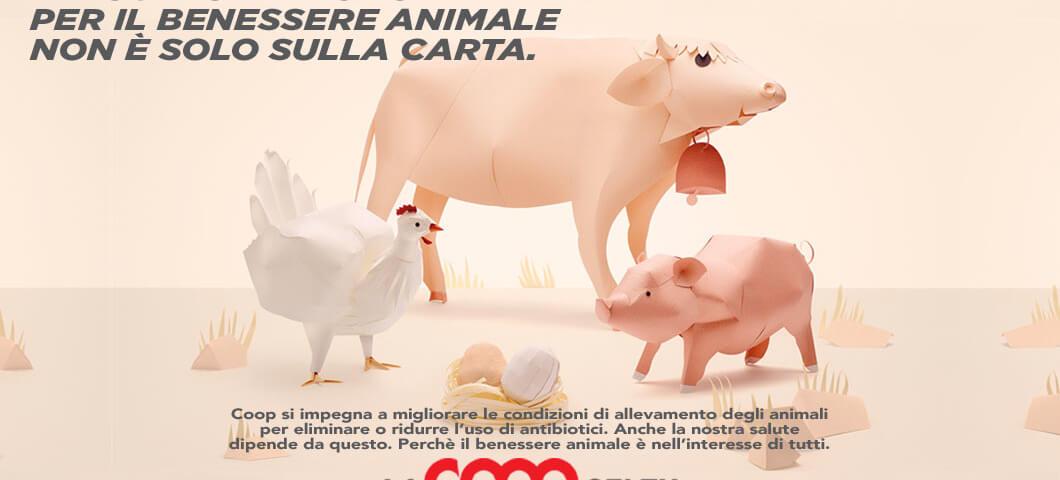 Coop: benessere animale per tutelare la salute dei consumatori