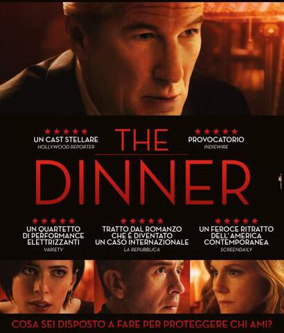 """Una promozione a tutto food & wine per il film """"The Dinner"""""""