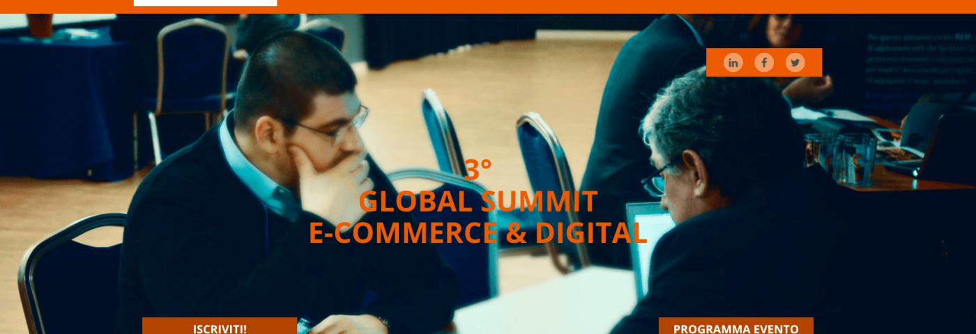 Il 21 e il 22 giugno a Bologna il 3° Global Summit E-commerce & Digital Marketing