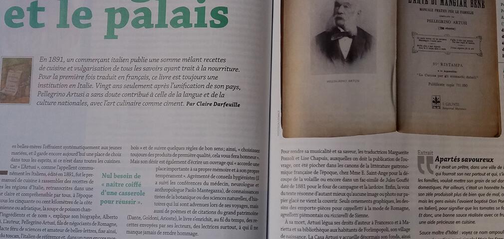 Pellegrino Artusi tradotto in Francia