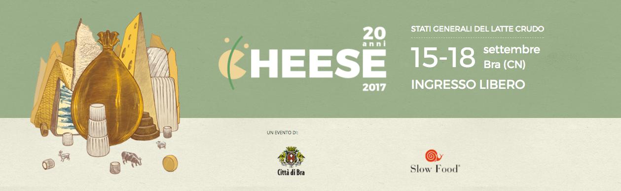 Dal 15 al 18 settembre a Bra la ventesima edizione di Cheese