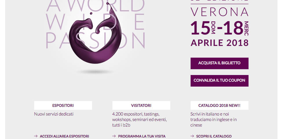 Vinitaly sempre più internazionale, green, digitale e business oriented