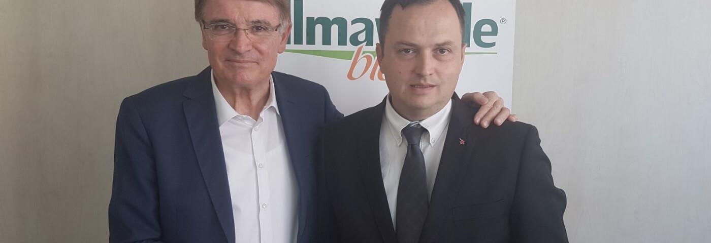 Renzo Piraccini lascia la guida di Almaverde Bio a Ilenio Bastoni