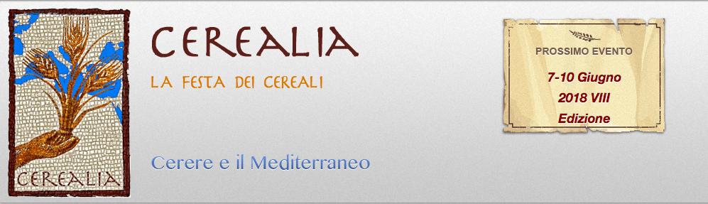 Cerealia: dal 7 al 10 giugno la festa dei cereali
