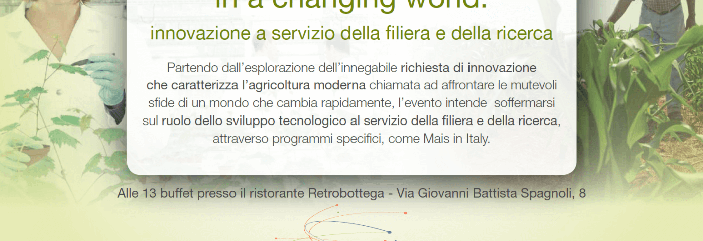 Syngenta al Mantova Food and Science Festival con tre convegni