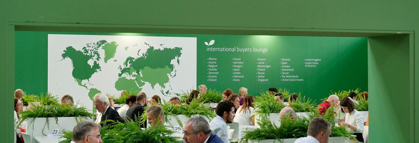 Oltre 1.000 espositori e buyer da 60 Paesi a Sana 2019