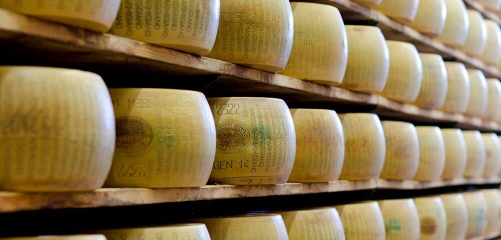 Dazi Usa al 25% su parmigiano reggiano, grana e provolone, alcolici e salumi
