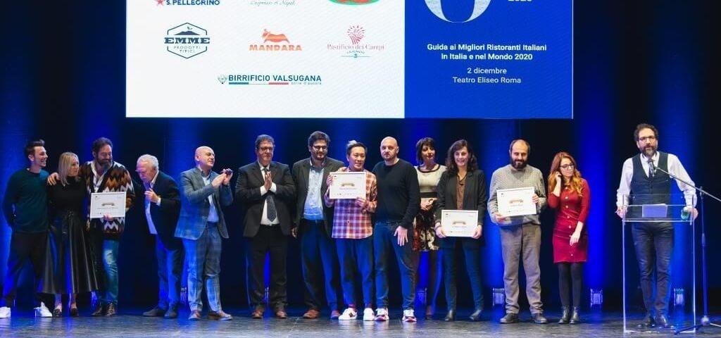 50 Top Italy premia i migliori ristoranti italiani