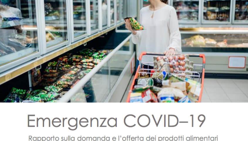 Rapporto Ismea su domanda e offerta dei prodotti alimentari nelle prime settimane di emergenza coronavirus